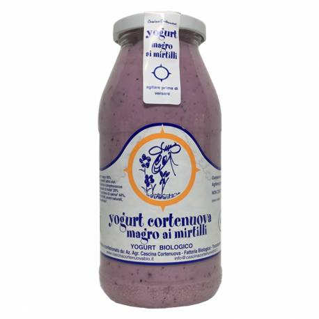 YOGURT AI MIRTILLI - 500 gr.